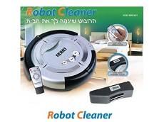 ROBOT CLEANER שואב אבק רובוטי מתקדם במבצע מיוחד לכבוד החג !