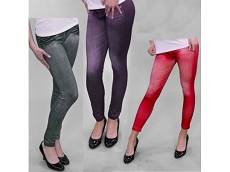 מכנס טייץ דמוי ג'ינס נוסף Slim N Lift Caresse Jeans