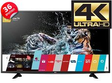 טלויזיה SMART TV 4K 55UF680Y LG