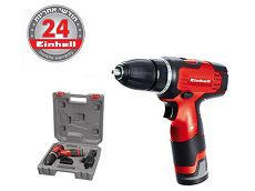 מברגת ליתיום נטענת Einhell TH-CD 12-2Li