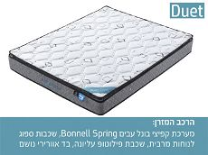מזרן קפיצים זוגי דואט Home Decor