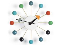 שעון קיר BALL CLOCK Bradex