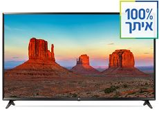 טלויזיה SMART TV 4K 49UK6300Y LG