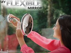 FLEXIBLE MIRROR מראה גמישה  Flexible Mirror