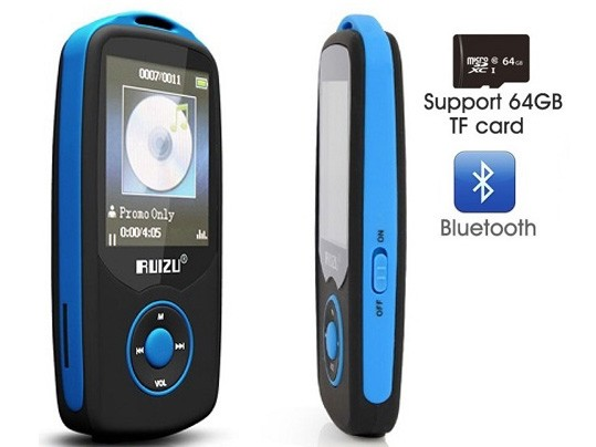 נגן MP3 Bluetooth Ruizu MATX06