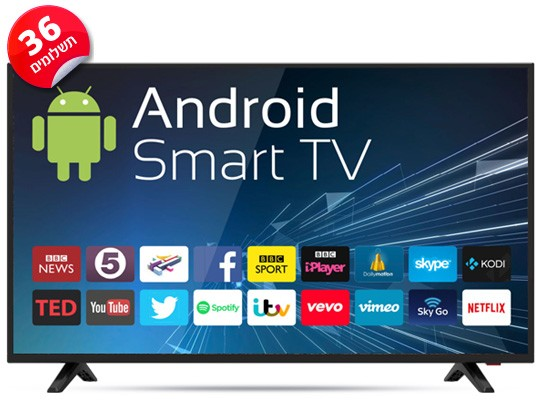 טלויזיה SMART TV GS-43FLED Peerless