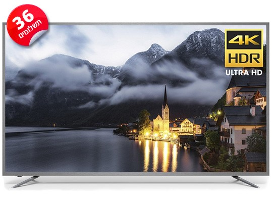 טלויזיה SMART TV 4K R75-SM-4K Peerless