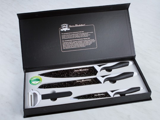 Harry Blakestone Knife Set סכיני קרמיקה
