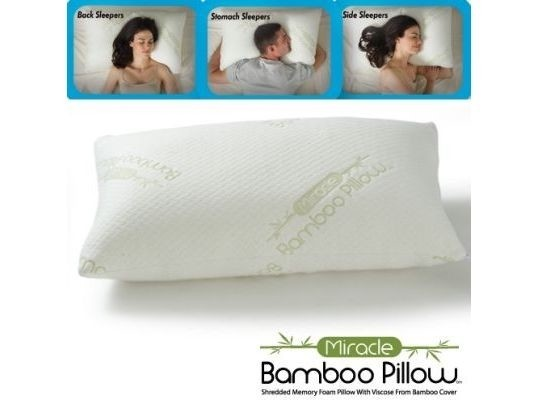 כרית במבו פילו Bamboo Pillow Standard