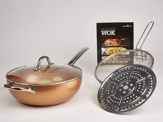 מחבת קופר שף ווק Copper Chef Wok