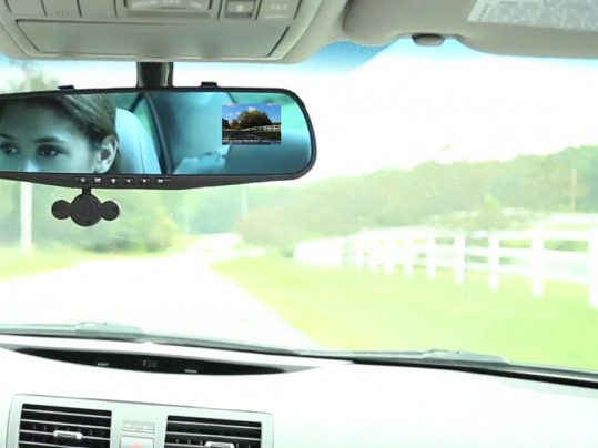 מראה לרכב HD Mirror Cam 180 - MO 2.2