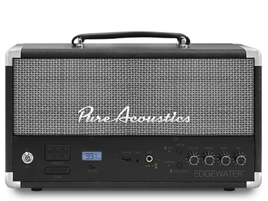 רמקול נייד Pure acoustics edge water